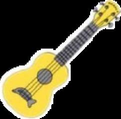 guitar yellow yellowguitar dolphin aestethic freetoedit