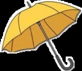 yellow aestethic sun sticker umbrella freetoedit
