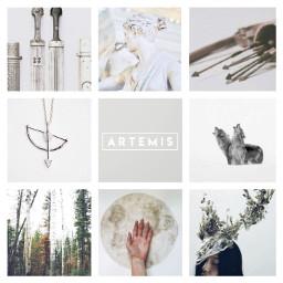 artemis goddess archery moon sisterofapollo