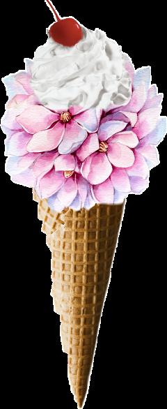 scicecreamsticker icecreamsticker wafflecone icecream cone freetoedit