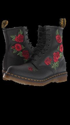 aesthetic tumblr cute roses boots freetoedit