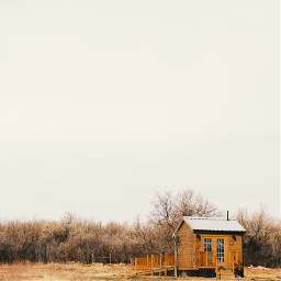 cabin wilderness house nature west freetoedit