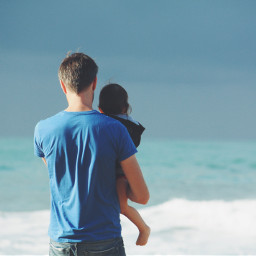 dad child family love people freetoedit