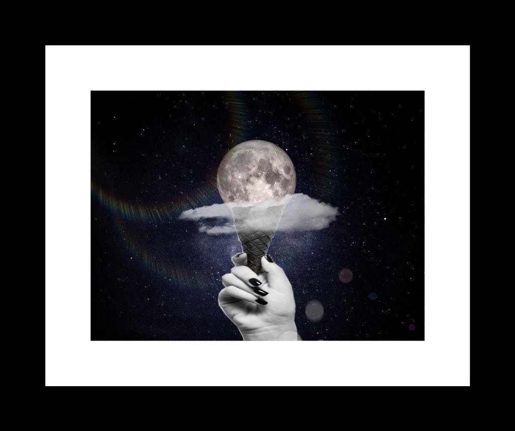 Lunemoon Icecream Glace Galaxy Freetoedit