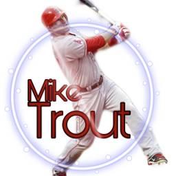 freetoedit mlb sportsedits baseball miketrout