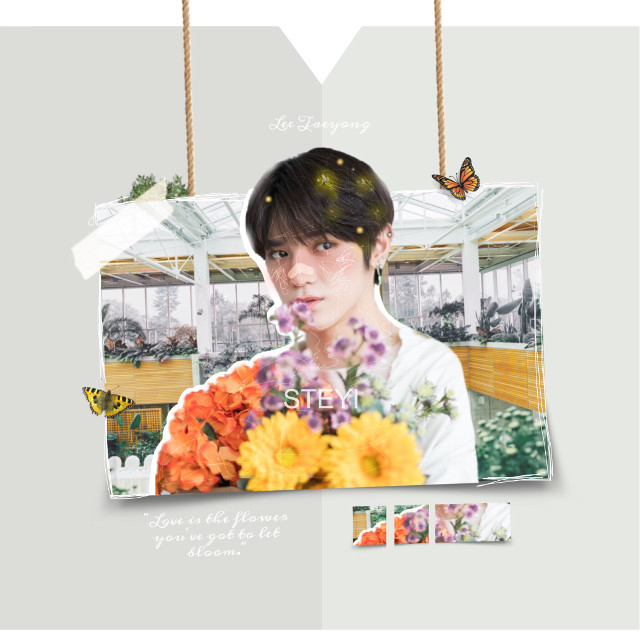 inspired by nature 💐🦋  sticker cr: to everyone I used stickers from. creds aren't showing :/  I hope you all have an amazing day~  #kpopedits #edits #kpopedit #edit #kpop #nctedit #ncttaeyong #nct #nctuedit #nctutaeyong #nctu #nct127_taeyong #nct127edit #nct127 #leetaeyong #taeyong