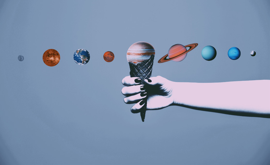 #freetoedit #icecream #solarsystem #planets