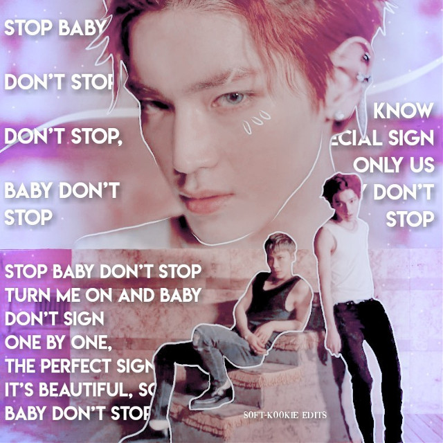 Stop, baby don't stop   I'm like obsessed with this song 😍✨💕 what's your favourite nct song?  ───── ⋆⋅☆⋅⋆ ─────  #taeyong #tennct #leetaeyong #nctu #nct127 #nct #babydontstop #kpop #kpopedit  #freetoedit