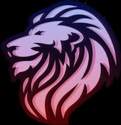 lion king havana neon emblem freetoedit