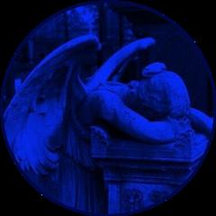 freetoedit blueaesthetic blue darkblue darkblueaesthetic sculpture