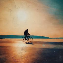 bicycle cycling sunshine photographyart