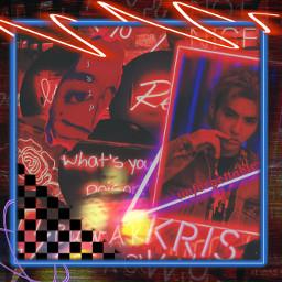 neonedit neonsticker kriswu kriswuedit lotsofstickers