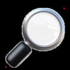 emoji lupe metal spion agent freetoedit
