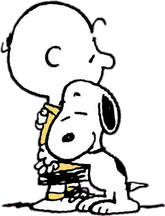 charliebrown snoopy peanuts hugs friends freetoedit