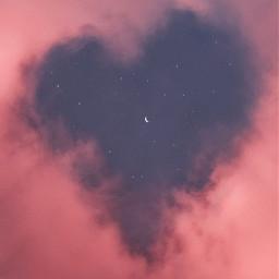 heartcloud cloudheart heart cloud freetoedit