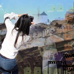 freetoedit greece snapshots tourist sightseeing