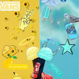 ecicecream icecream blue cyan yellow