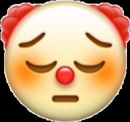 clown emoji niche meme sad freetoedit