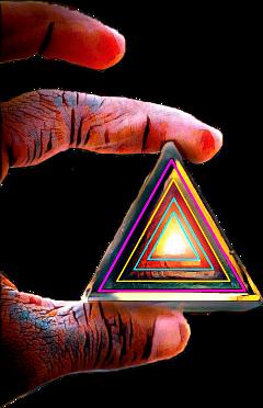 triangle hand trianglehand freetoedit sctriangles