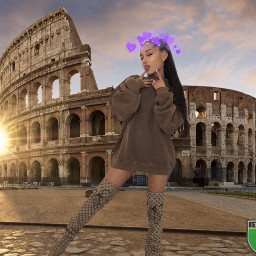 roma italia arianagrande beutyfullgirl picsart freetoedit