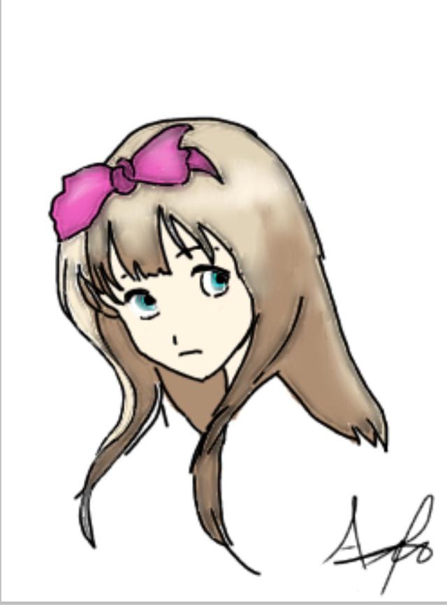#animegirl #drawing #girl