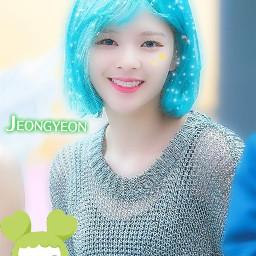 jeonyeon twice freetoedit