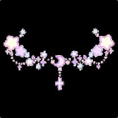 cyber kawaii cute hearts cross freetoedit