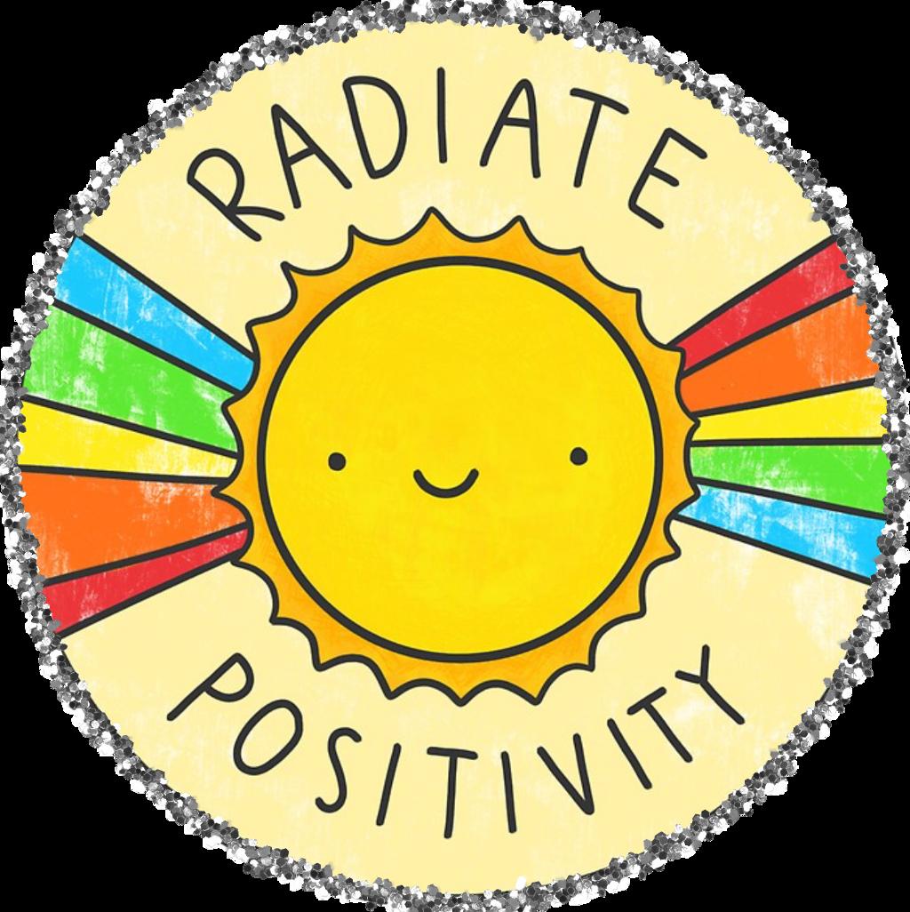 positive sun yellow summer vsco cute rainbow freetoedit