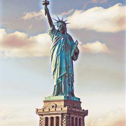 freetoedit statueofliberty outdoors history travel