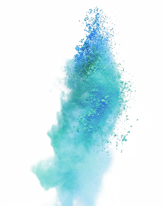 blue smoke fog splash freetoedit