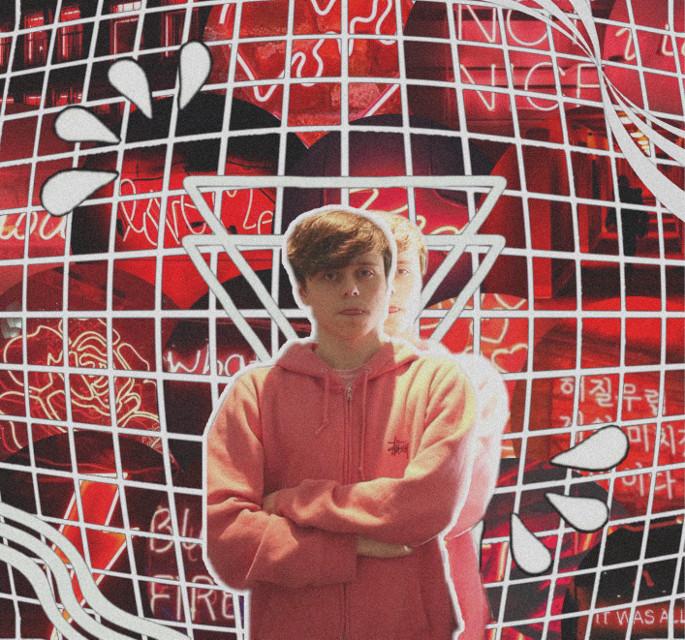 Alex Elmslie 🍒 #red #overlays #alexelmslie #imallexx #redaesthetic #edit #freetoedit