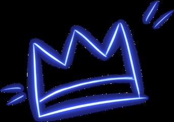 crown birthday art neon party freetoedit