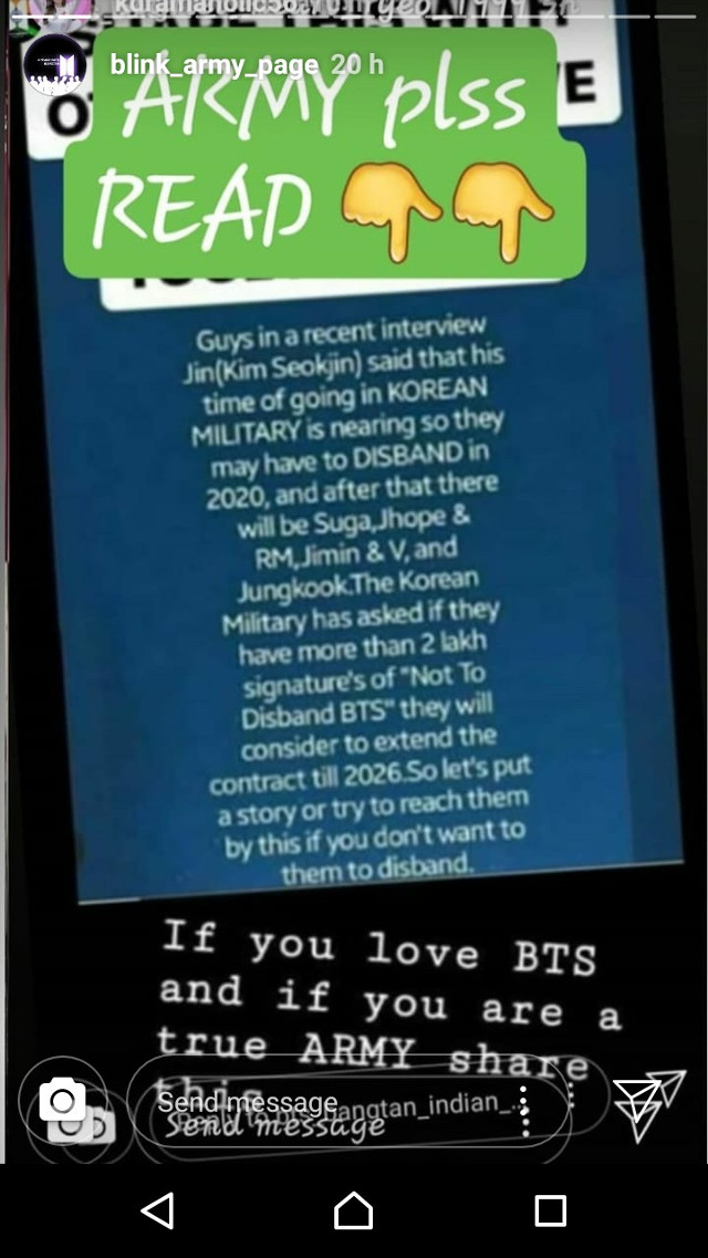 is this true? they probably wont disband but it wont be the same without him 😫😫  tags: ————- #bts #jin #military #repost #jinbts #freetoedit