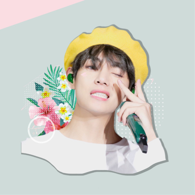 ;request open 🐳   / i feel so soft from the colors  and texture used in this edit, oOf 🐢   ; CREDITS:: 🎋  [♚] tae sticker /soft-kookie [♔] flower sticker snack_mafer  [♚] dotting sticker /bananamhilk   TAGS;    🐣🌱 #kimtaehyung #taehyung #bts #bangtanboys #btsedit #kpop #kpopidol #pastel