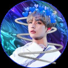 kimtaehyung btsarmy bts blue blueframe