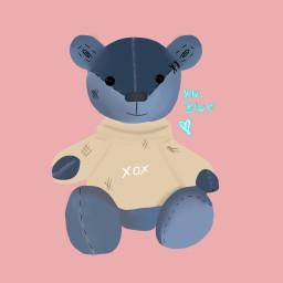dcchildhoodtoy childhoodtoy teddy drawing