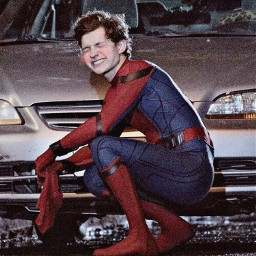tomholland holland tom marvel spiderman freetoedit