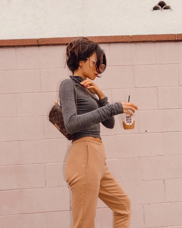 June gloom but make it chic 💖  #freetoedit #california #style #styleblogger #fashionicon #girlpower #girly #photography #louisvuitton #designer