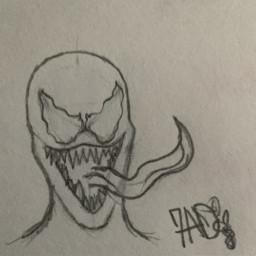 venom eddiebrock sketch