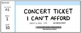concert ticket grunge aesthetic arthoe freetoedit