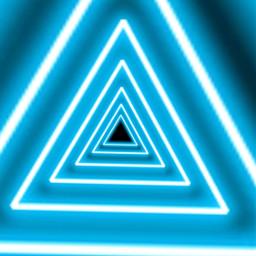 freetoedit fondotumblr neon triangles