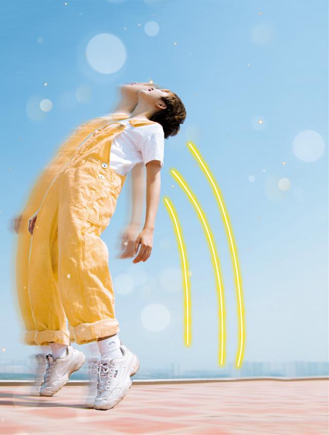 #freetoedit  #yellowaesthetic