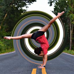 handstand me gymnast acrobatics acrobat freetoedit