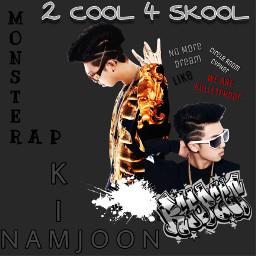 bts 2cool4skool kimnamjoon namjoon rm rapmonster