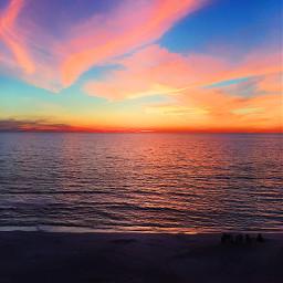 pcbeachtime beachtime beach sky sunset pccolorfulsummer pcbluehour bluehour
