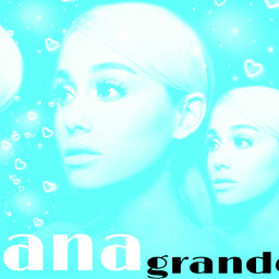 ariana blue background hearts subtitles