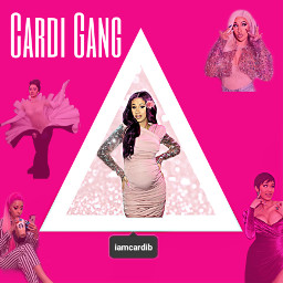 cardib pink outfits love yasqueen freetoedit