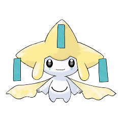 jirachi pokemon anime freetoedit