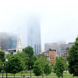freetoedit fog urban skyline city