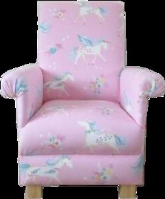 freetoedit chair seat unicorn girly